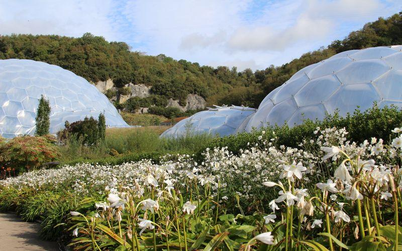 Just 15 minutes from the Eden Project