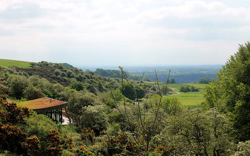 View of the Dales from the Sanctuary
