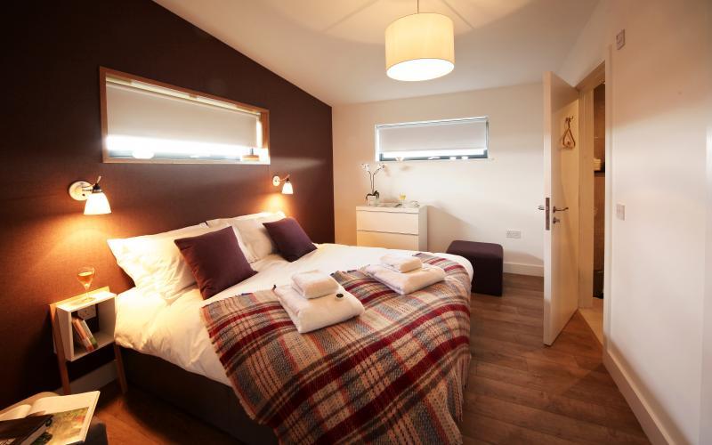 John O'Groats Lodge - Bedroom