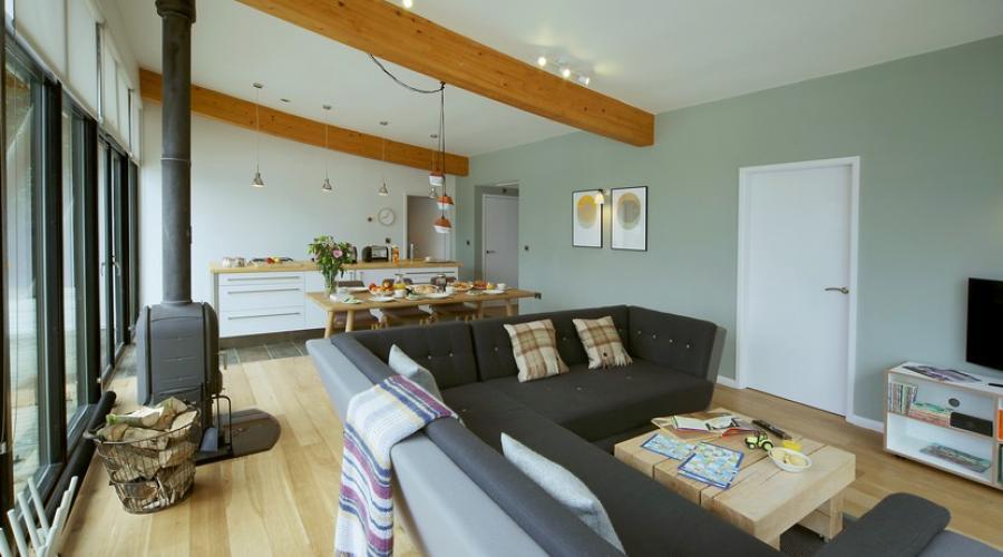 Family lodge living area